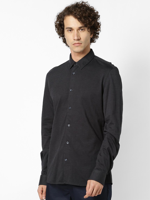 celio   celio Grey Casual Shirt