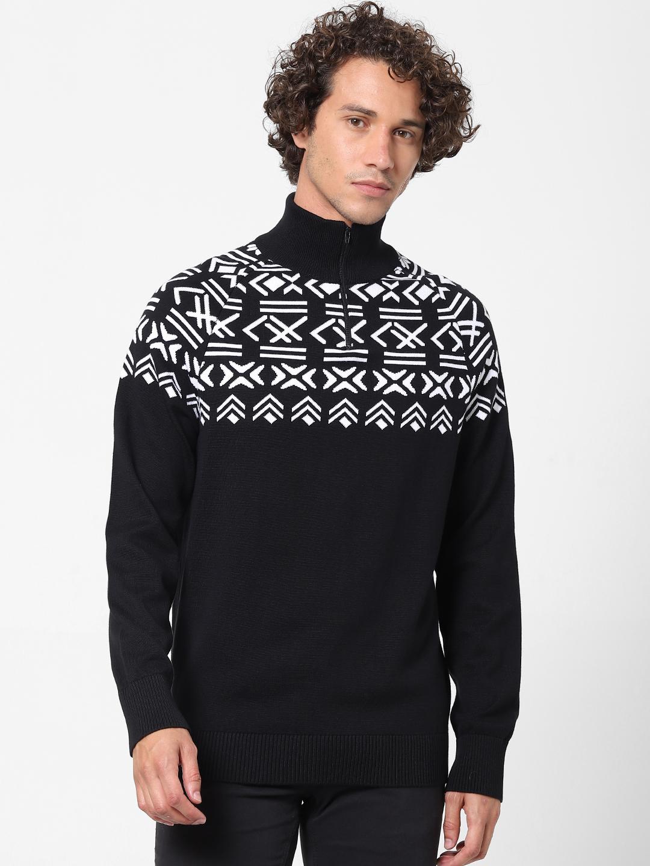 celio | 100% Cotton Black Sweater