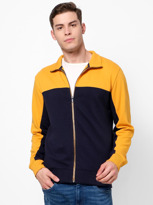 celio   Yellow Sweatshirts