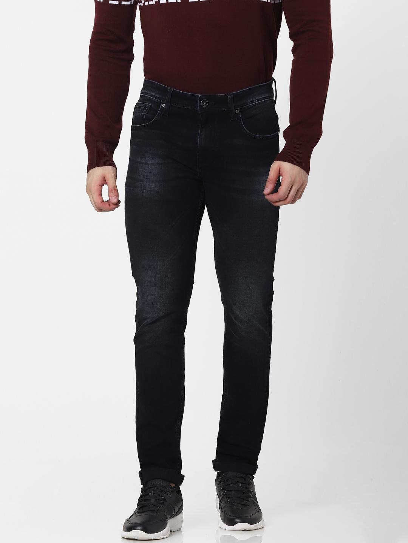 celio   Slim Fit Black Jeans