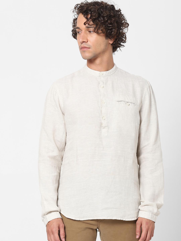 celio | 100% Linen Regular Fit  Shirt