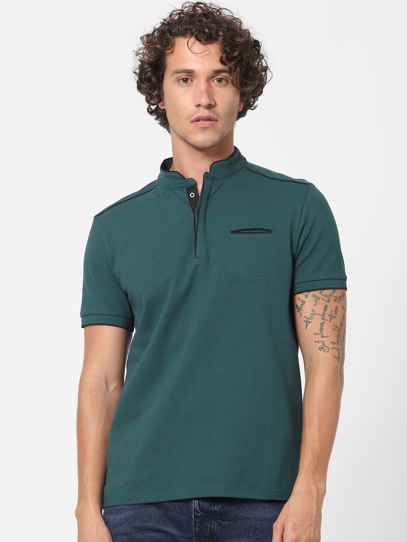 celio | Green Slim Fit Polo T-shirt