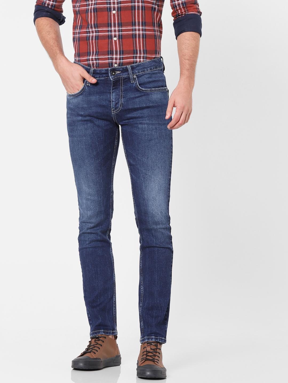 celio | Skinny Fit Dark Indigo Jeans