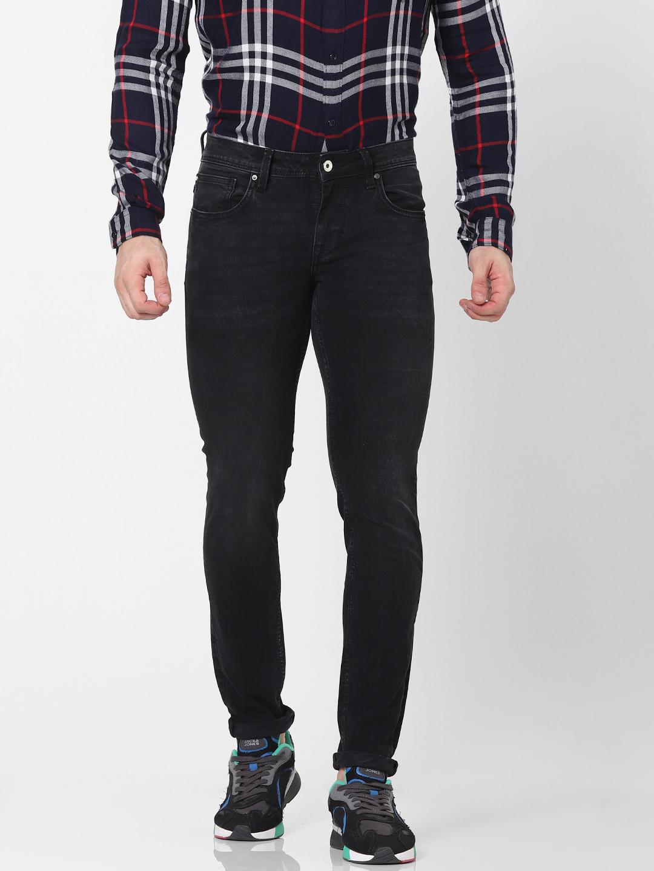 celio | Skinny Fit Black Jeans