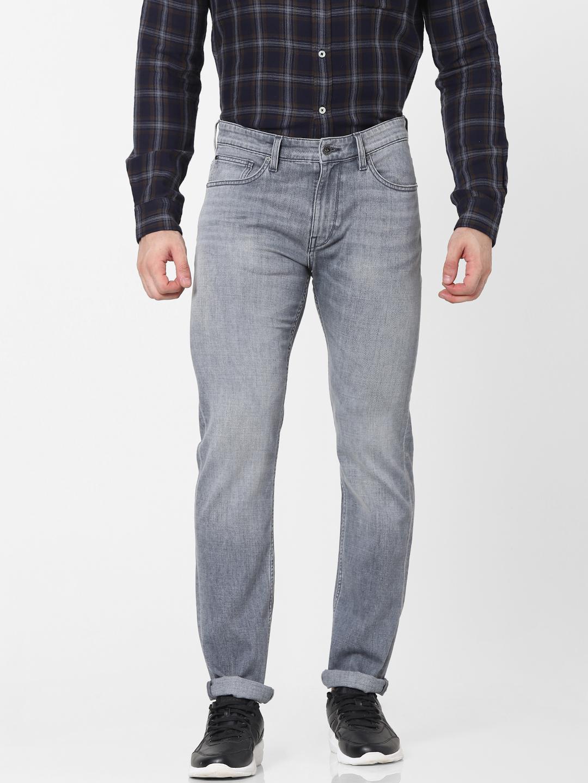 celio   Grey Straight Fit Jeans