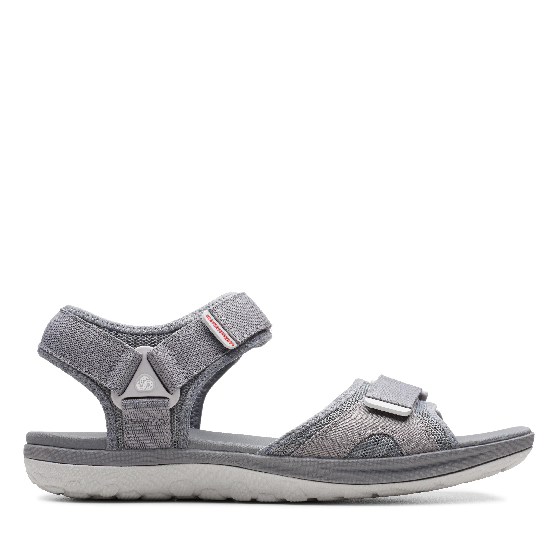 Clarks   Step Beat Sun Grey Sandals