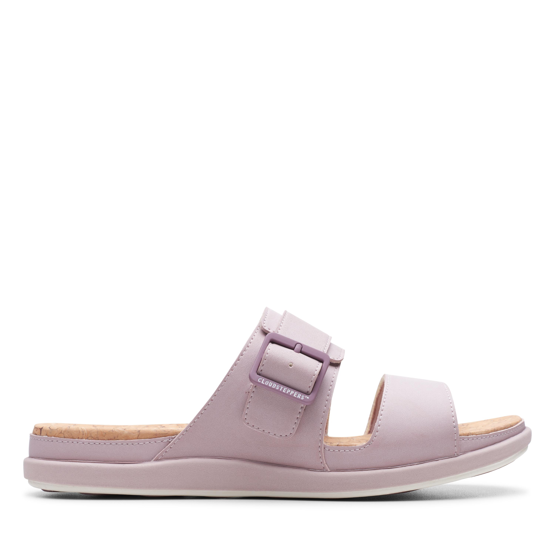 Clarks | Step June Tide Dusty Pink Flat Sandals
