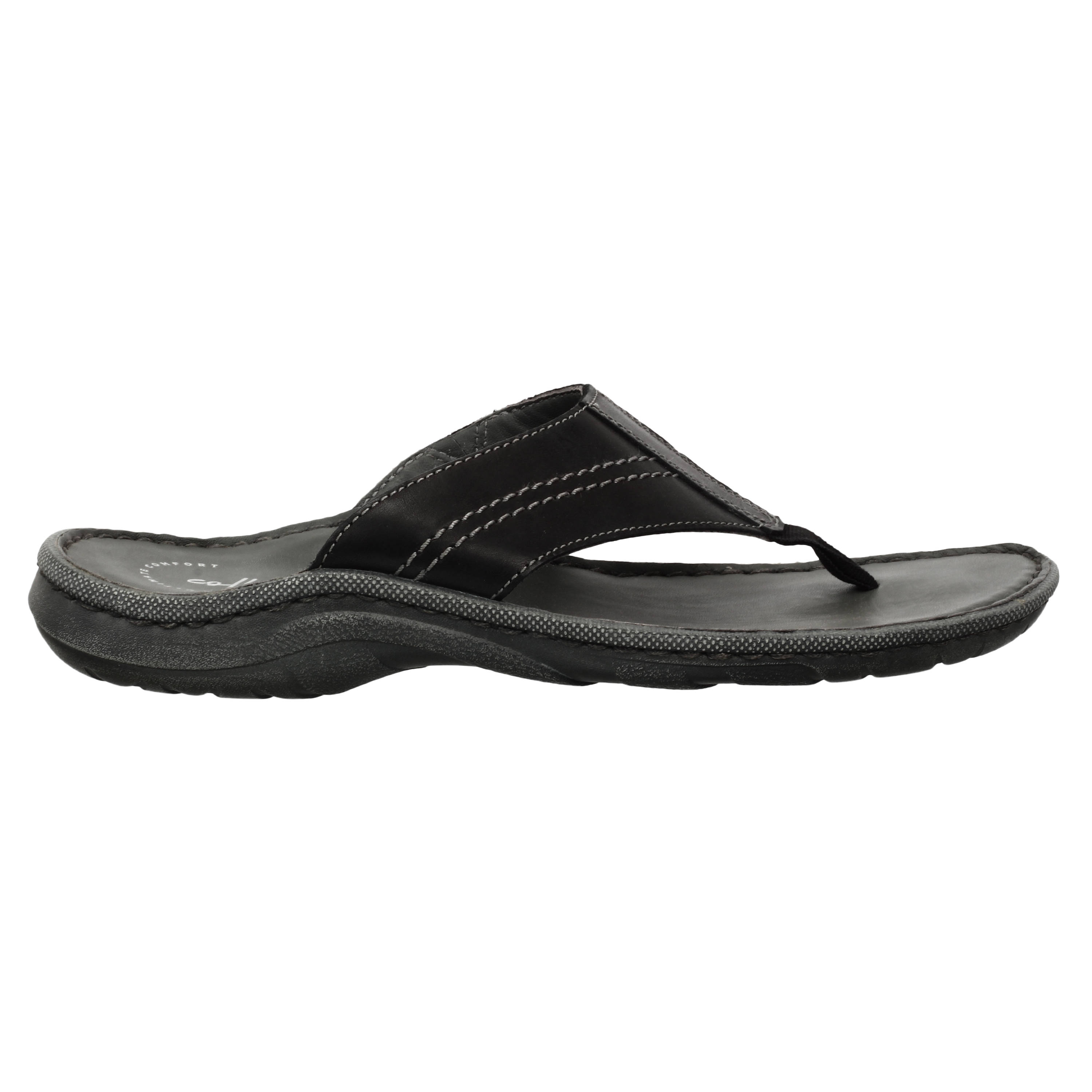Clarks | REMBO POST BLACK CASUAL CHAPPAL