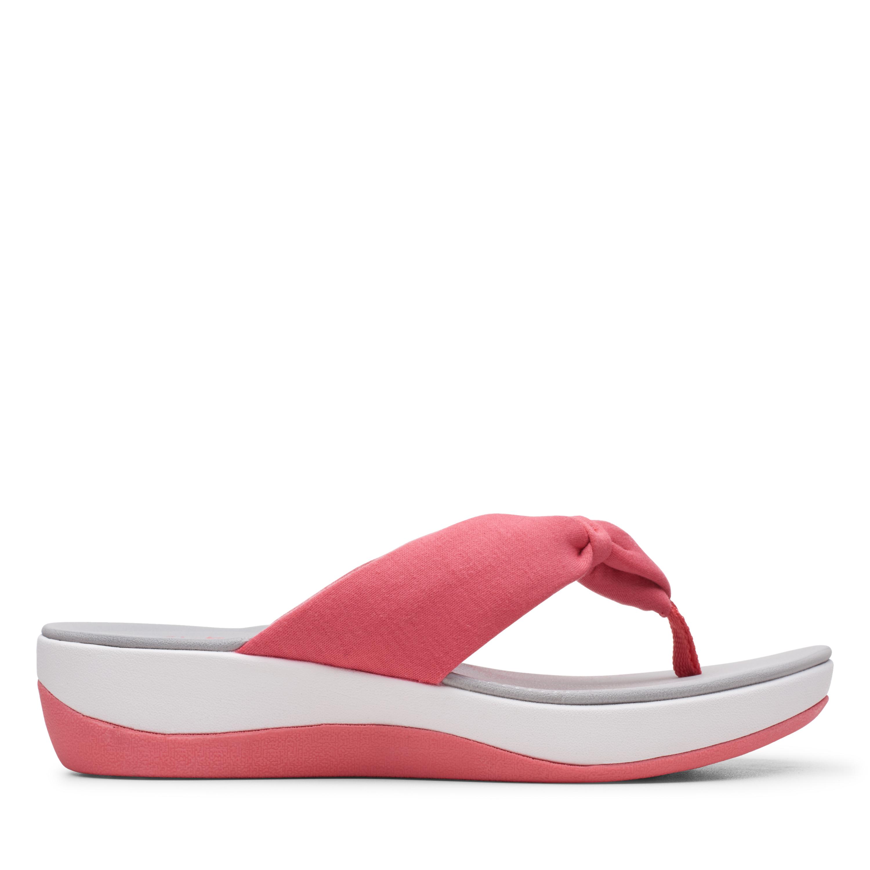 Clarks | Arla Glison Raspberry Flat Sandals