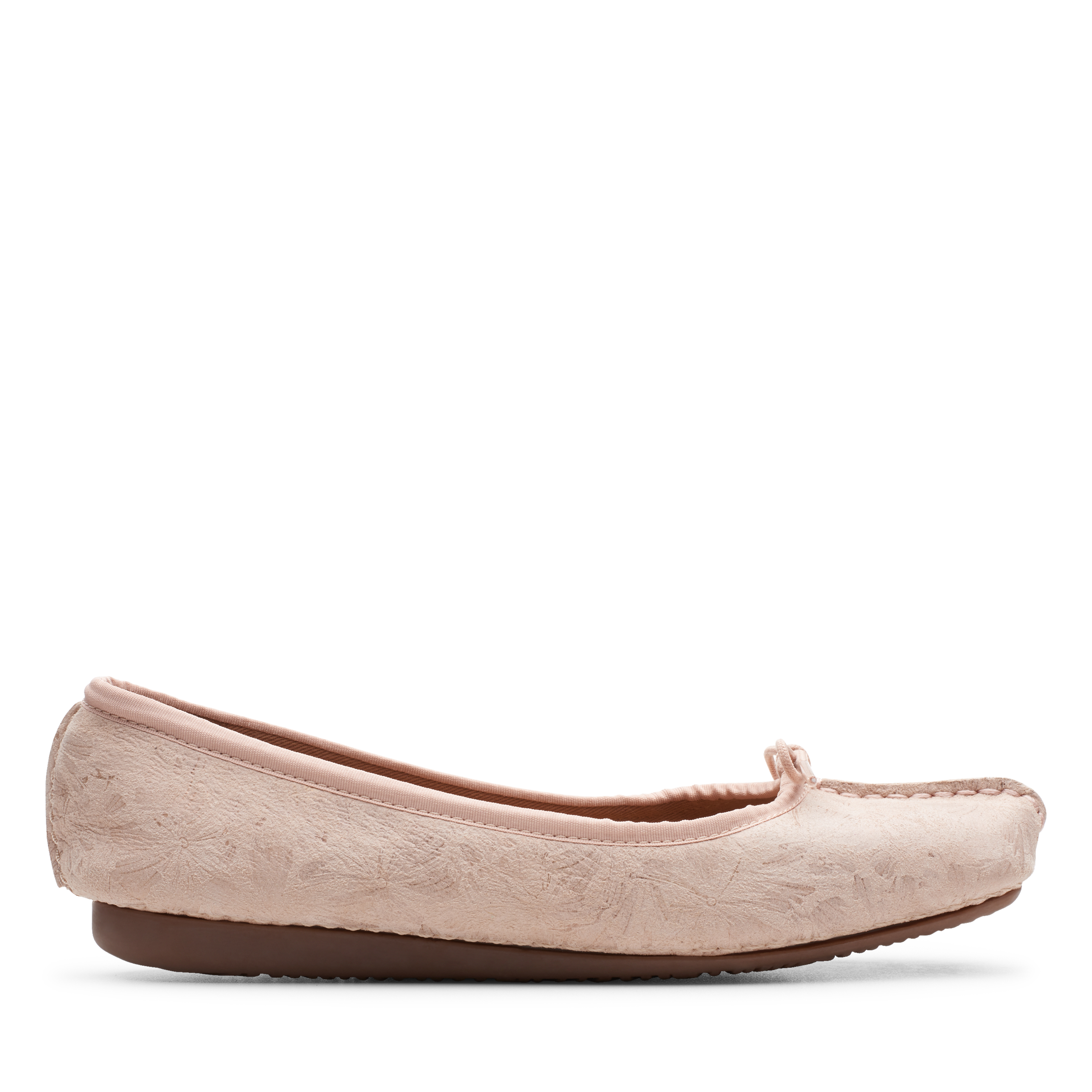 Clarks | Freckle Ice Blush Leather Pumps