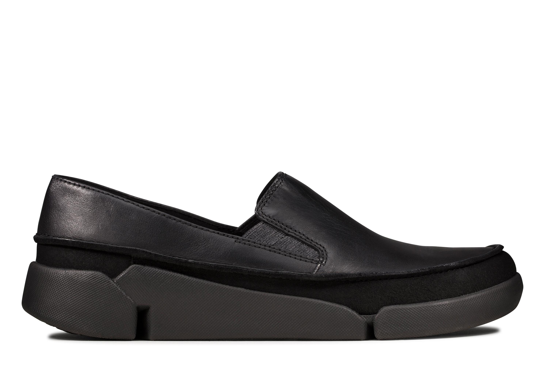 Clarks | Tri Step Black Loafers