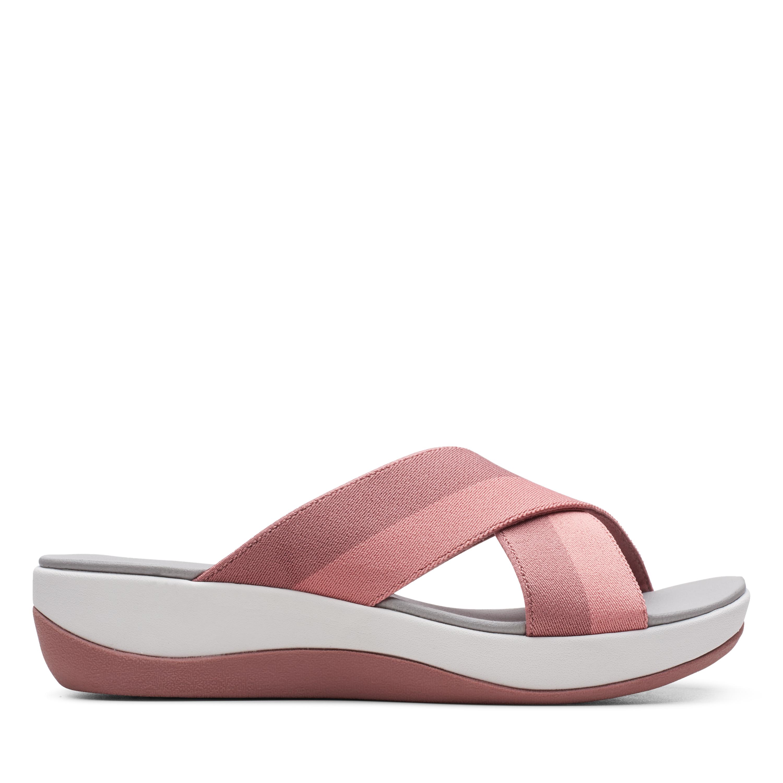 Clarks | Arla Elin Pink/Multi Flat Sandals