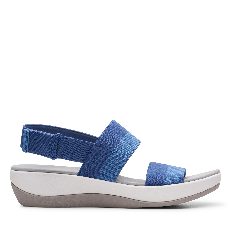 Clarks | Arla Jacory Indigo Flat Sandals