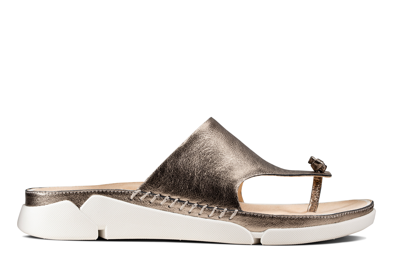 Clarks | Tri Toe Post Stone Flip Flop