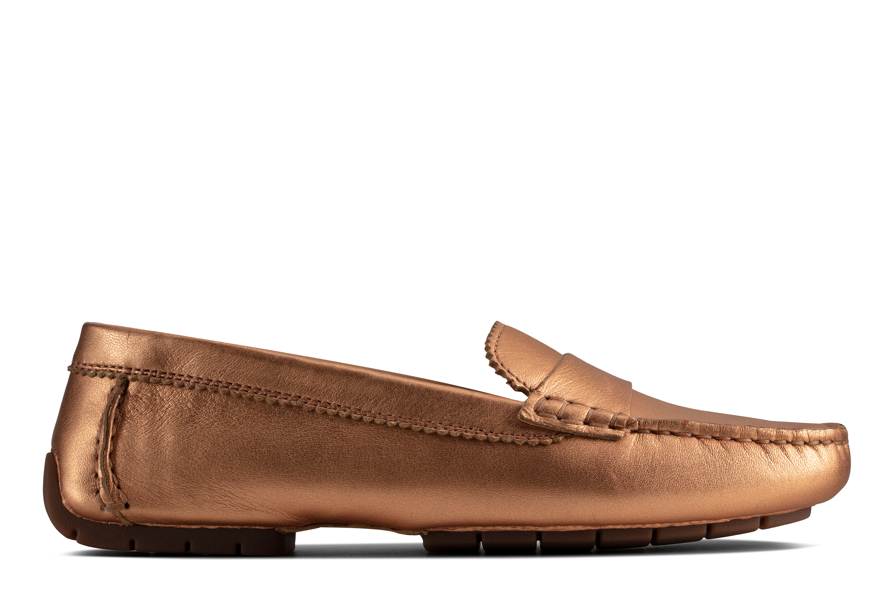 Clarks | C Mocc Copper Leather Loafers