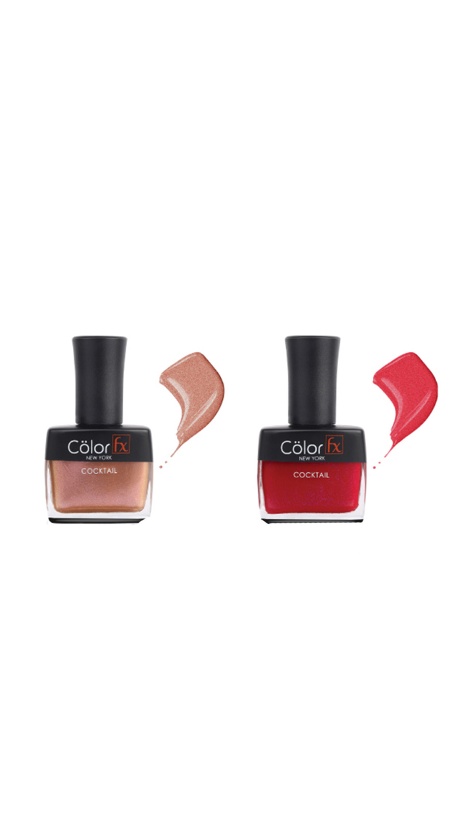 Color Fx | Color Fx Nail Enamel Cocktail - Party Collection Pack of 2