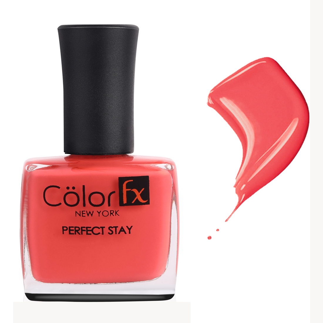 Color Fx | Color Fx Perfect Stay Basic Collection Nail Enamel, Shade-124