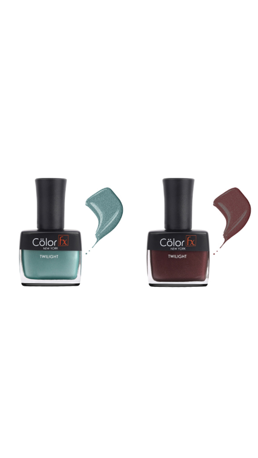 Color Fx | Color Fx Nail Enamel Twilight - Festive Collection Pack of 2