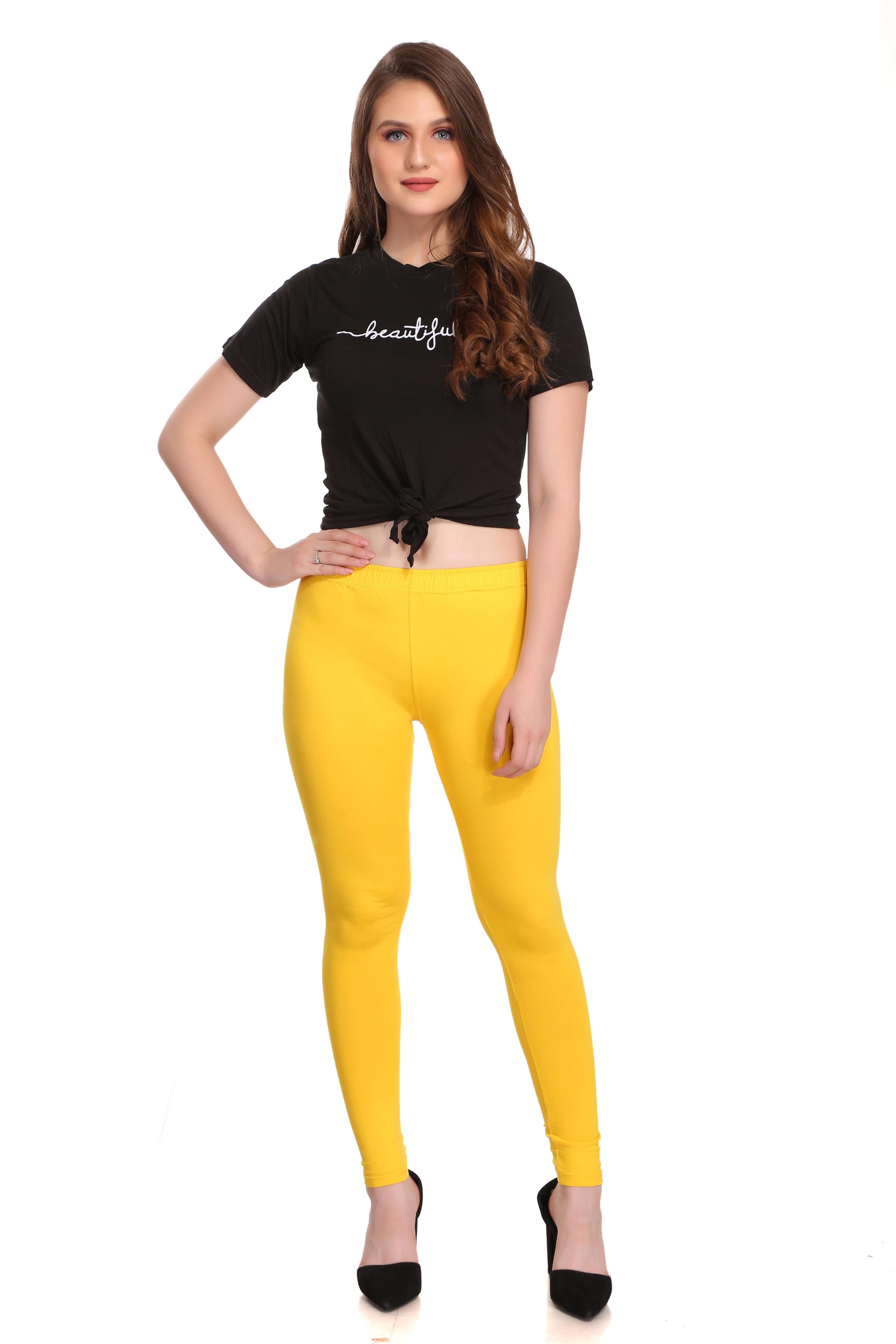 Colorfit   Colorfit Cotton Lycra Ankle Length Leggings for Women