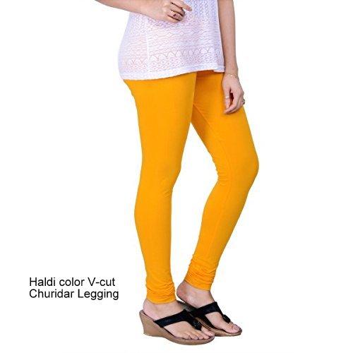 Colorfit   Colorfit Cotton Lycra Churidar Length Leggings for Women