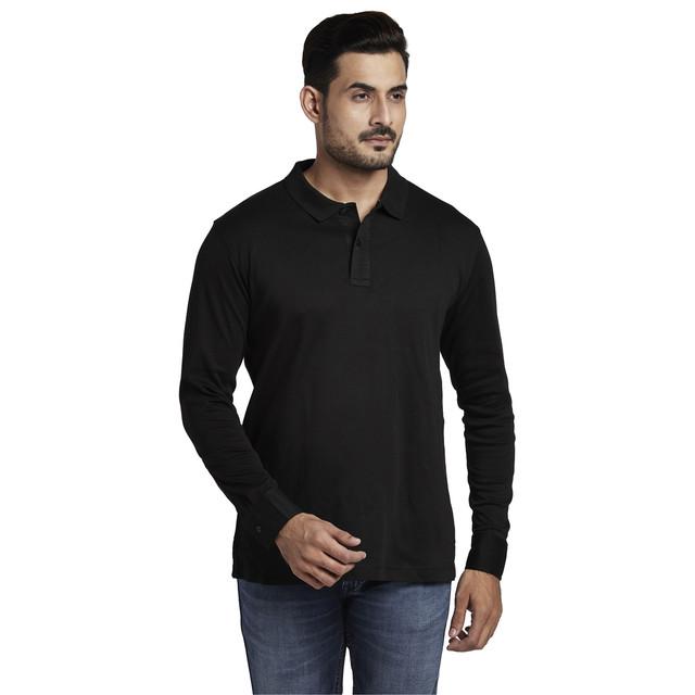 ColorPlus | ColorPlus Black Classic Fit T-Shirt