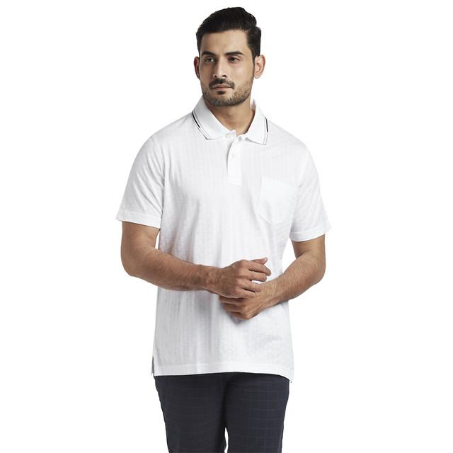 ColorPlus   ColorPlus White Classic Fit T-Shirt