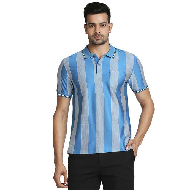ColorPlus   ColorPlus Medium Blue T-Shirt