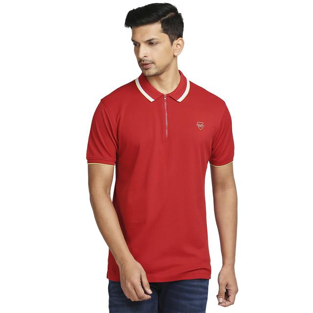 ColorPlus   ColorPlus Dark Red T-Shirt