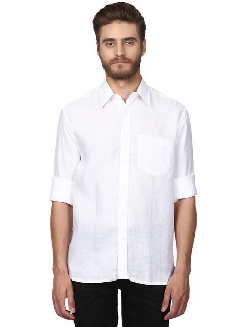 ColorPlus   ColorPlus White Casual Shirt