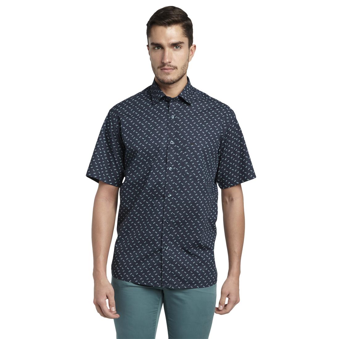 ColorPlus | ColorPlus Black Regular Fit Shirts