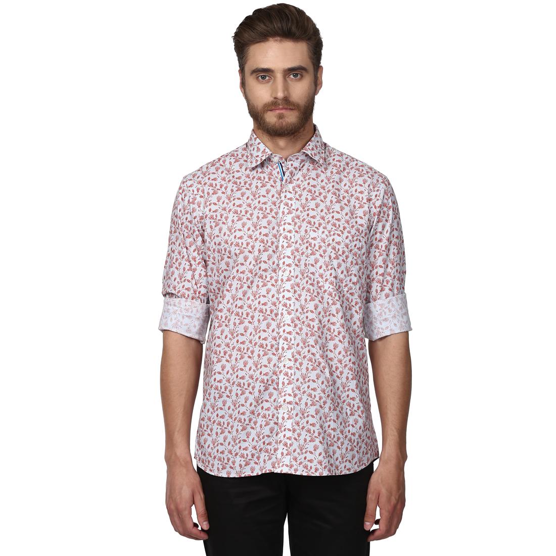 ColorPlus | ColorPlus Medium Red Tailored Fit Shirts