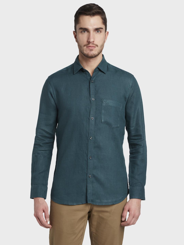 ColorPlus   ColorPlus Dark Green Shirt