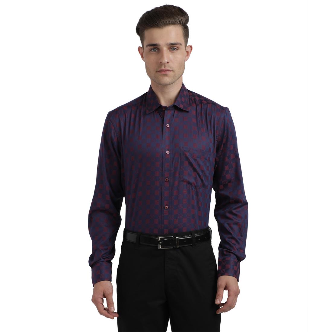 ColorPlus   ColorPlus Dark Red Shirt