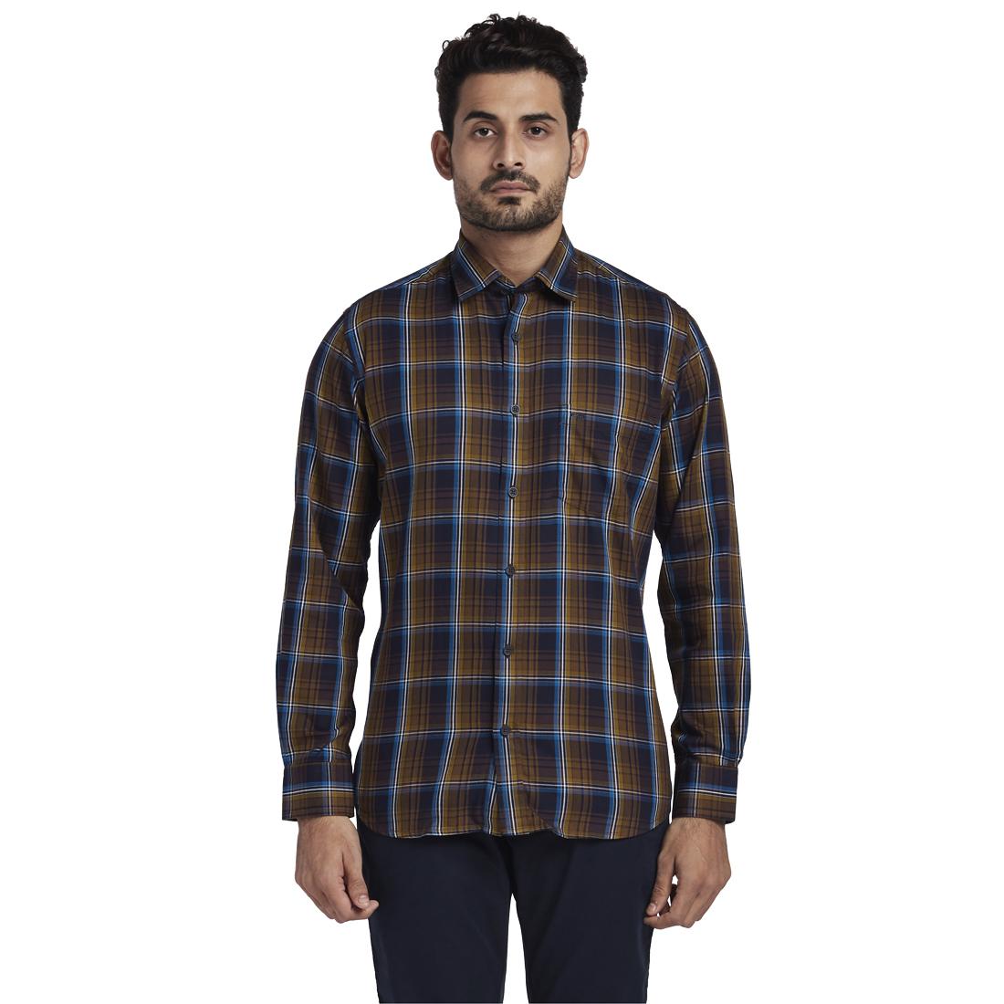 ColorPlus | ColorPlus Brown Shirts