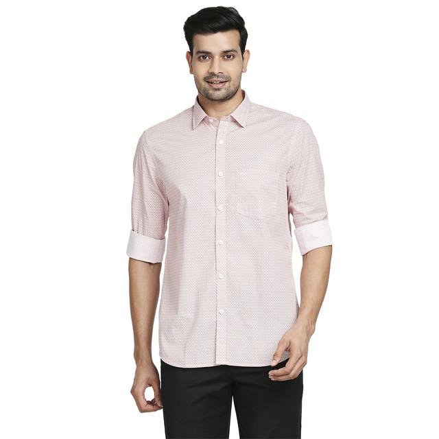 ColorPlus   ColorPlus Medium Red Tailored Fit Shirt