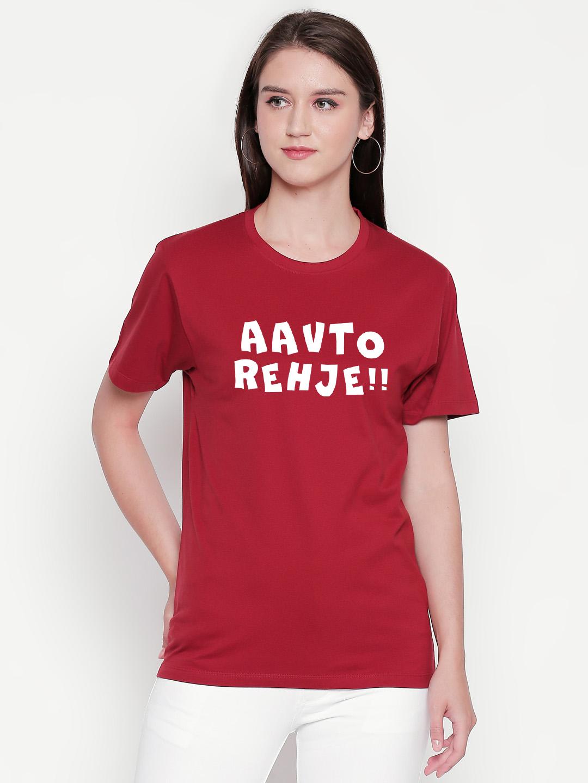 creativeideas.store | Aavto Rehje Maroon Tshirt by The Comedy Factory - creativeideas.store