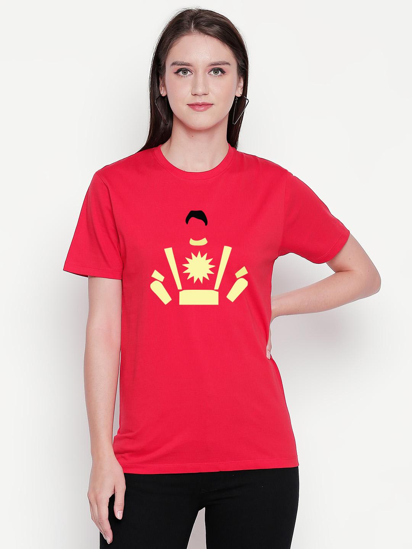 creativeideas.store | Sorry Shaktimaan Red Tshirt by Meghdhanush - creativeideas.store