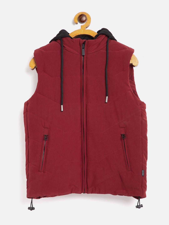 Crimsoune Club | Crimsoune Club Boy Solid Red Jacket