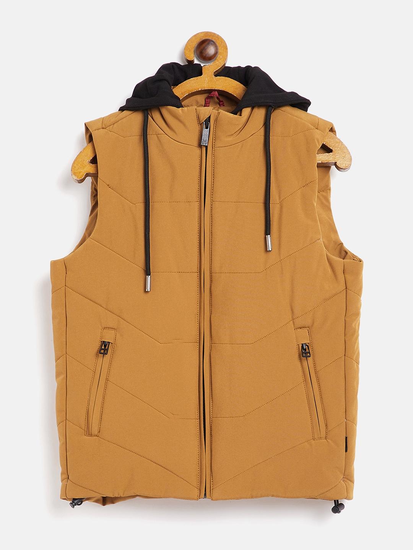 Crimsoune Club | Crimsoune Club Boy Solid Yellow Jacket