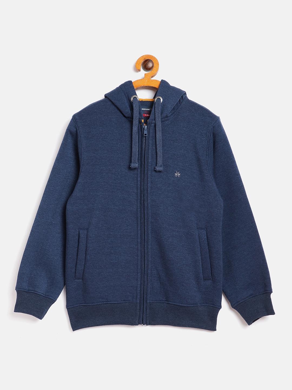 Crimsoune Club | Crimsoune Club Boy Solid Blue Sweat Shirt