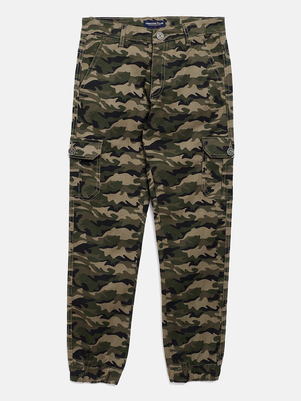 Crimsoune Club | Crimsoune Club Boy's Camouflage Olive Jogger