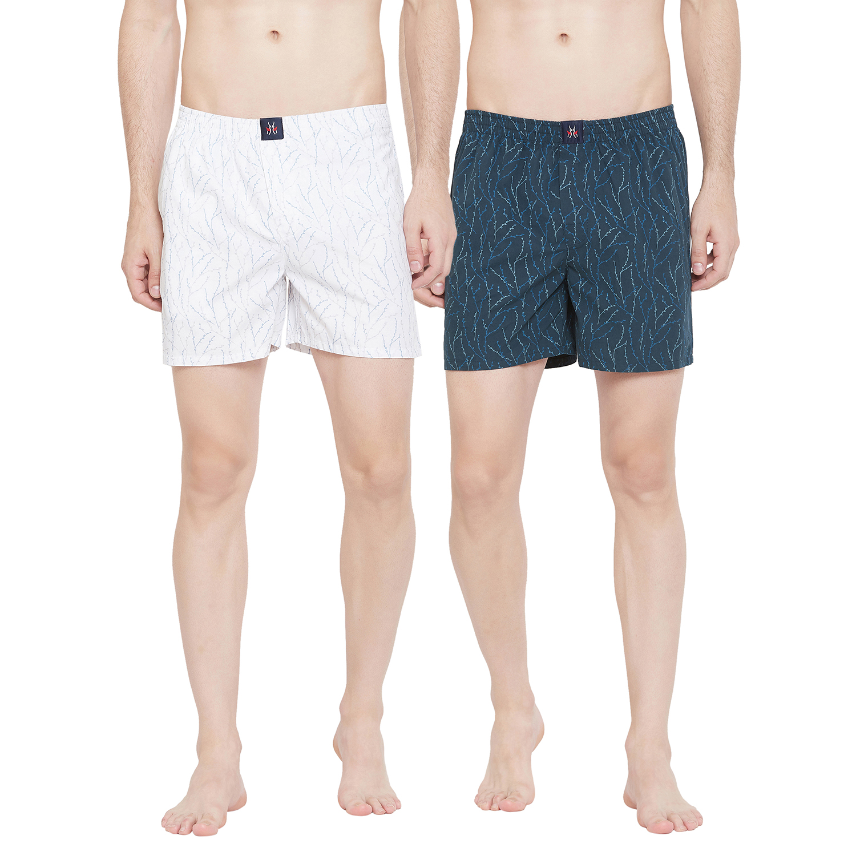 Crimsoune Club | Crimsoune Club Men's Pack of 2 Printed Boxer