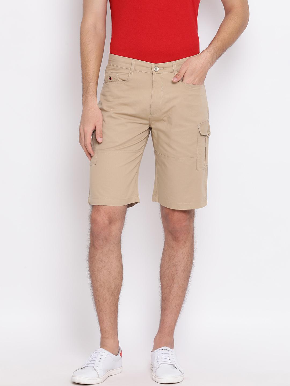 Crimsoune Club | Crimsoune Club Solid Beige Men's Shorts