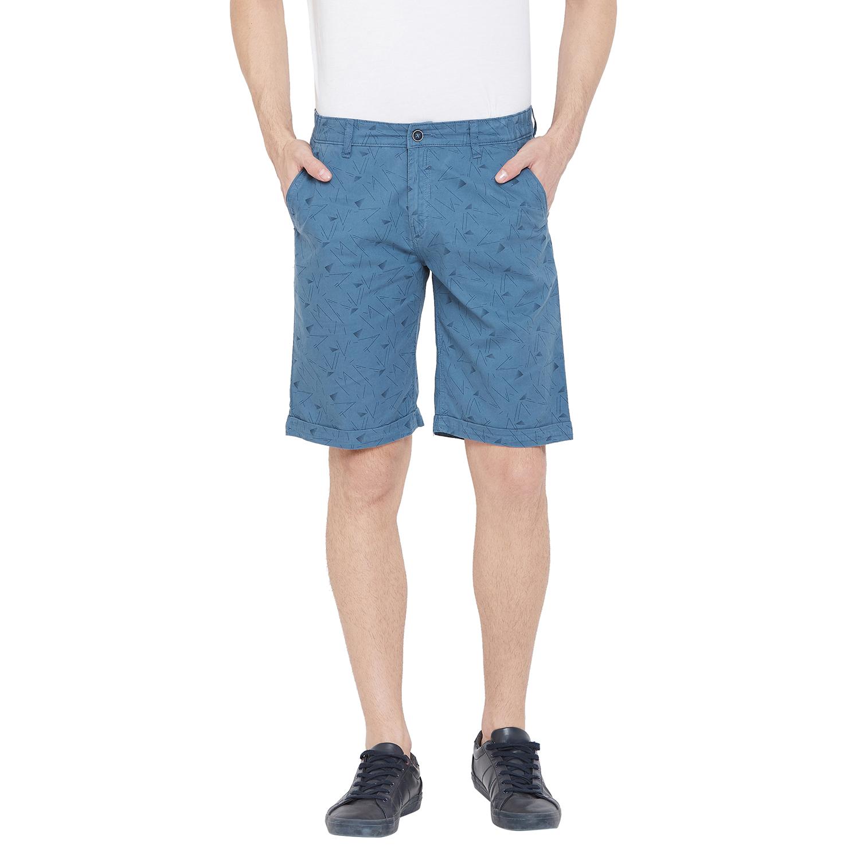 Crimsoune Club | Crimsoune Club Men's Blue Printed Shorts