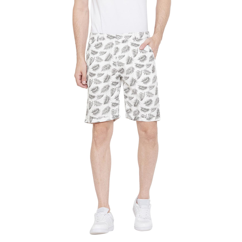 Crimsoune Club | Crimsoune Club Men's White Printed Shorts