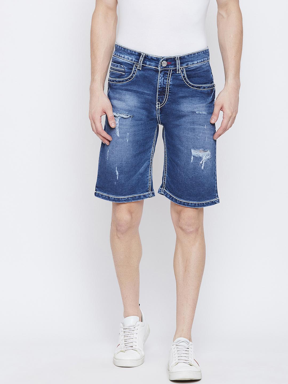 Crimsoune Club | Crimsoune Club Men's Solid Blue Shorts