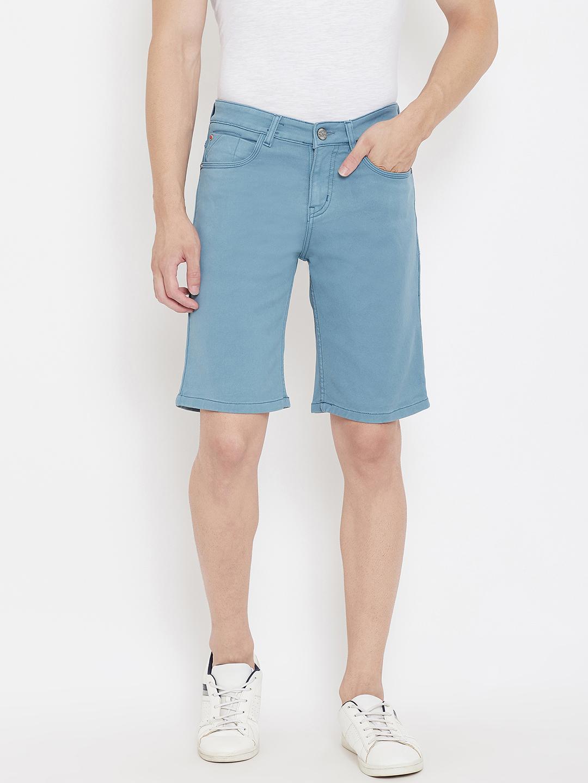 Crimsoune Club   Crimsoune Club Men's Solid Light Blue Shorts