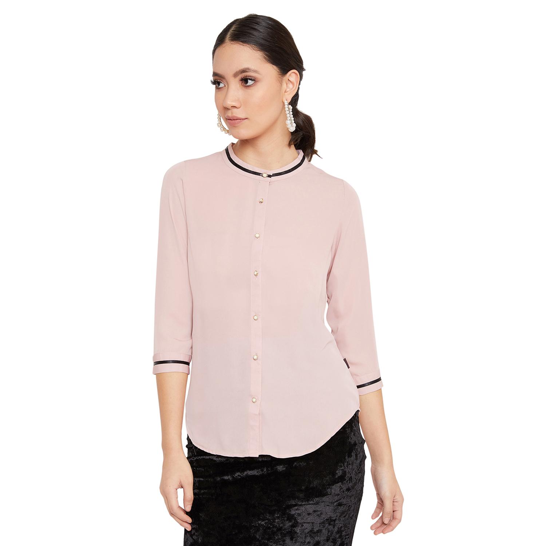 Crimsoune Club | Crimsoune Club Women's Pink Solid Top