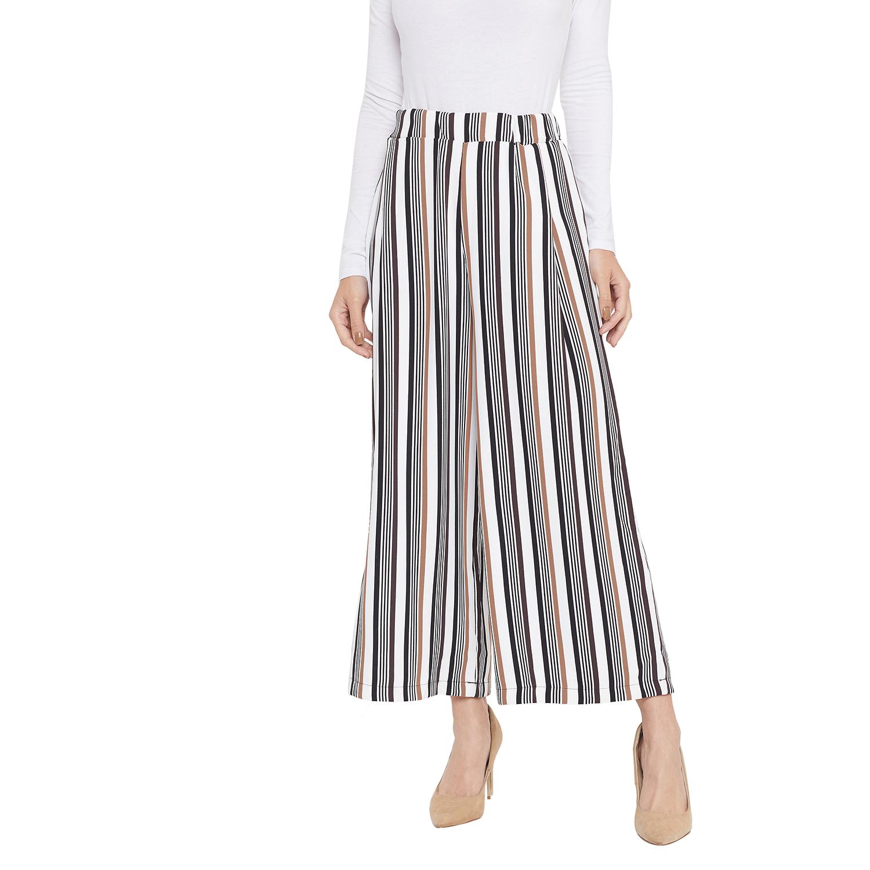 Crimsoune Club | Crimsoune Club Womens Multi Striped Parallel Trousers