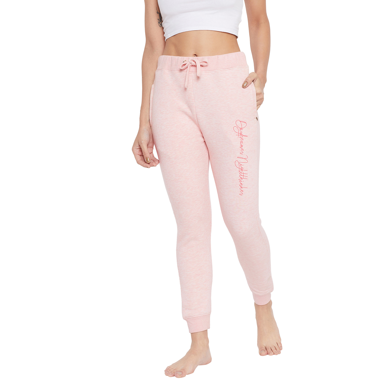 Crimsoune Club | Crimsoune Club Womens Pink Solid Joggers